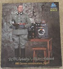 """DID Action Figure German Major Achbach 1/6 12"""" Boxed Hot Toy ww11 Dragon"""