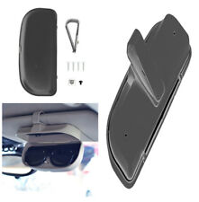 Black ABS Car-Styling Vehicle Sun Visor Sunglasses Case Holder Box for Auto Car