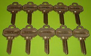 🔑 10 Brand New BALDWIN 5 PIN KEY BLANKS Model Number BAL8335152 (10 Keys Total)