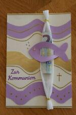 Geldgeschenk Gutschein Kommunion Mädchen GS013