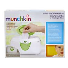 Munchkin Warm Glow Wipe Warmer, Holds 100 Pop-Up or Stack Wipes Soft Night Light