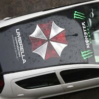 reflektierend sticker Aufkleber UMBRELLA CORPORATION redident evil logo 60 cm