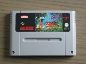 JEU SUPER NINTENDO SNES LE LIVRE DE LA JUNGLE