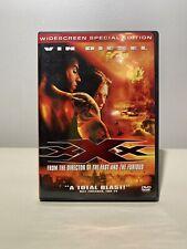 Xxx, Vin Diesel (Dvd, 2002, Widescreen Special Edition) Dir. Rob Cohen