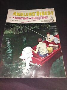 Anglers Digest, 1963, 11 issues missing November. Vintage/rare.