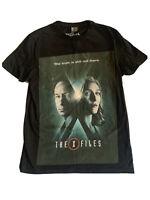 Officially Licensed ASOS The X-Files Men's Black T-Shirt Tee Top Medium 2018