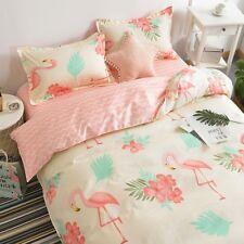 Animal Printing Bedding Set Duvet Quilt Cover+Sheet+Pillow Case Four-Piece New