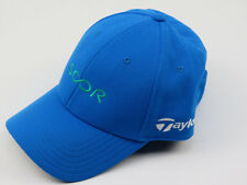 New! TaylorMade Scor Mens Athletic Golf Hat Cap Blue Adjustable