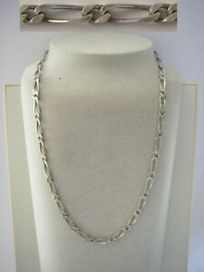 collier chaine homme 15gr ARGENT massif 925 solid silver necklace N°40