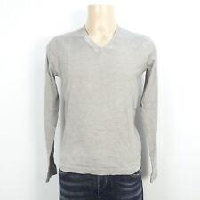 Patrizia PEPE Maglione a maglia Knit V-Neck grigio chiaro taglia M