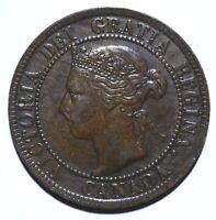1895 Canada One 1 Cent - Victoria - Lot 1173