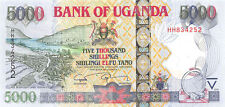 Uganda 5000 Shillings 2008 Unc pn 44c