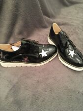 Kayla Black Painted Star Shoes