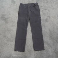 Vintage Lee Riders Corduroy Pants 34x32 Straight Leg Made In USA Mens Gray