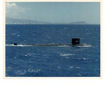 USS Tunny SSN682 Submarine Original Photograph 8x10 Color