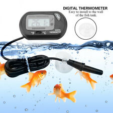 Digital Fish Tank Reptile Aquarium Water Meter Thermometer Temperature