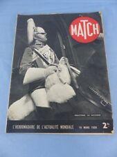 Revue MATCH du 16 mars 1939 ANGLETERRE , université OXFORD COCO CHANEL