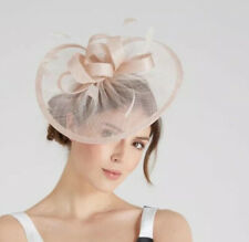 Coast AMEDEE Fascinator sinemay With Feathers Headband To Secure