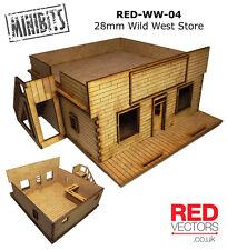 RED-WW-04 - 28mm Wargames-Salvaje Oeste De Tienda