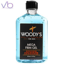 WOODY'S Quality Grooming For Men Mega Firm Gel 335ml - Super Hold, Made in USA