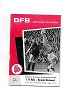 deutsche Meisterschaft 1963 Finale 1.FC Köln - Borussia Dortmund ausgabe NORD
