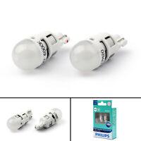 PHILIPS LED Bulb T10 12V 0.5W 6000K W2.1*9.5D 12791 White Interior Plate Light T