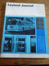 LEYLAND GIORNALE novdec. 1964, camion, autobus, pullman commerciale Magazine