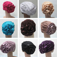 Ramadan Women Hat Inner Cap Muslim Flower Hijab Islamic Scarf Underscarf Hats