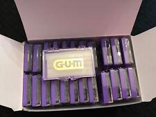 24 Pack Sunstar GUM Orthodontic Wax, Unflavored, Vitamin E Bulk Lot #723 Neutral