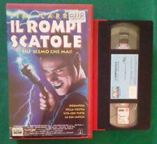 VHS Film Ita Comico IL ROMPISCATOLE jim carrey COLUMBIA ex nolo no dvd(V102)