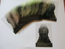 2020 Game of Thrones Season 8 Complete Acetate Character Set T1-T20 - Eight