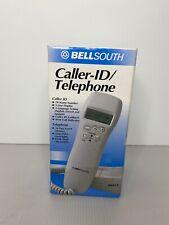 New in Box Bellsouth 8801X Caller Id Handset Phone White Desk or Wall Telephone