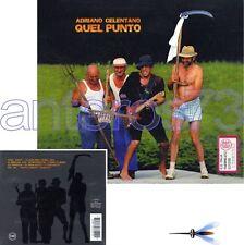 "ADRIANO CELENTANO ""QUEL PUNTO"" RARO CD 1994 - FUORI CATALOGO"