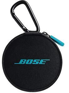 BOSE SoundSport wireless headphones Earphone Carrying Case Black Aqua