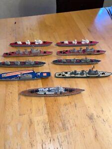 Matchbox Schiffe Sea King  Konvolut! Vollständige Serie Sehr Rar!!9 Stück