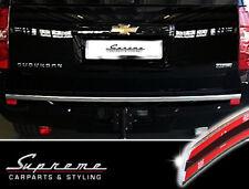 Chevrolet Suburban y GMC Yukon XL 06-14 Cromo Moldura 3M Barra Trasera Ancho