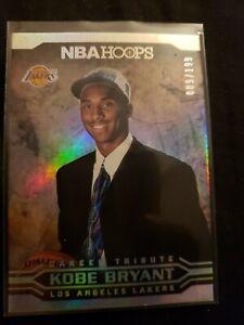 2017-18 Panini NBA Hoops Career Tribute Premium Box Set 09/199 Kobe Bryant #291