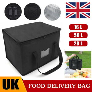3 Sizes Delivery Insulated Bags Food Pizza Takeaway Thermal Warm/Cold Bag Ruck