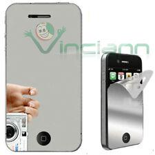Pellicola Mirror Specchio LCD frontale per iPhone 4 4S protezione display