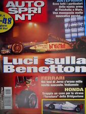 Autosprint 3 1999 Test Ferrari a Jerez. Nuova monoposto per Fisichella SC.56