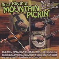 Rural Rhythm Mountain Pickin': 20 Bluegrass Instrumentals by Various Artists CD