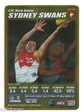 2007 Teamcoach Gold (174) Nick STEVENS Sydney
