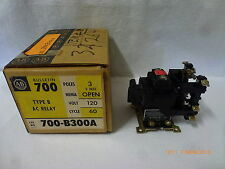 Allen-Bradley 700-B300A Type-B 3NO Open Relay OA86P 10A 600VAC 120V 60Hz New