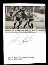 Serkan ATAK il Bayern Monaco Originale Firmato + a 142953