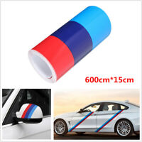 Car SUV DIY Color Stripe Sticker Applique Tools Decoration Universal 600cm*15cm