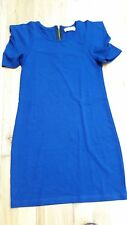 Perfect condition royal blue knee-length smart-casual dress - immaculate