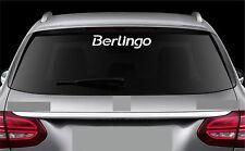 Rear Window sticker fits Citroen Berlingo Decal Emblem Car Logo RW7