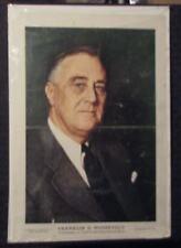 1942 Franklin D. Roosevelt FDR 10x15 Magazine Portrait VG 4.0 World War II 2