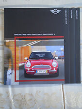 Mini range brochure One, One D, Cooper & Cooper S 2003 French text
