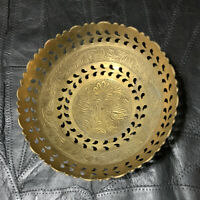 "Decorative solid brass bowl made in India. 6.7""Diameter"